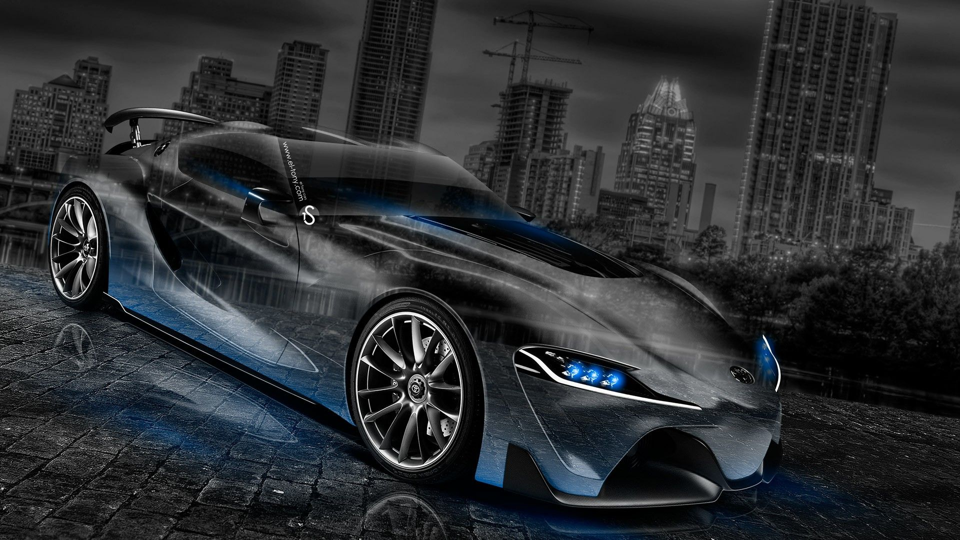 Exceptionnel Toyota Supra JDM Crystal City Car 2014 « El Tony | Download Wallpaper |  Pinterest | City Car