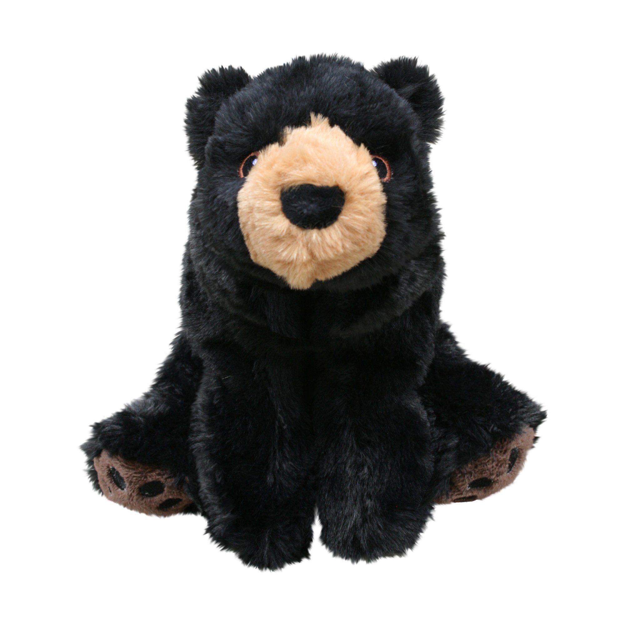 Kong Comfort Kiddos Bear Small Black Kong Dog Toys Dog Toys