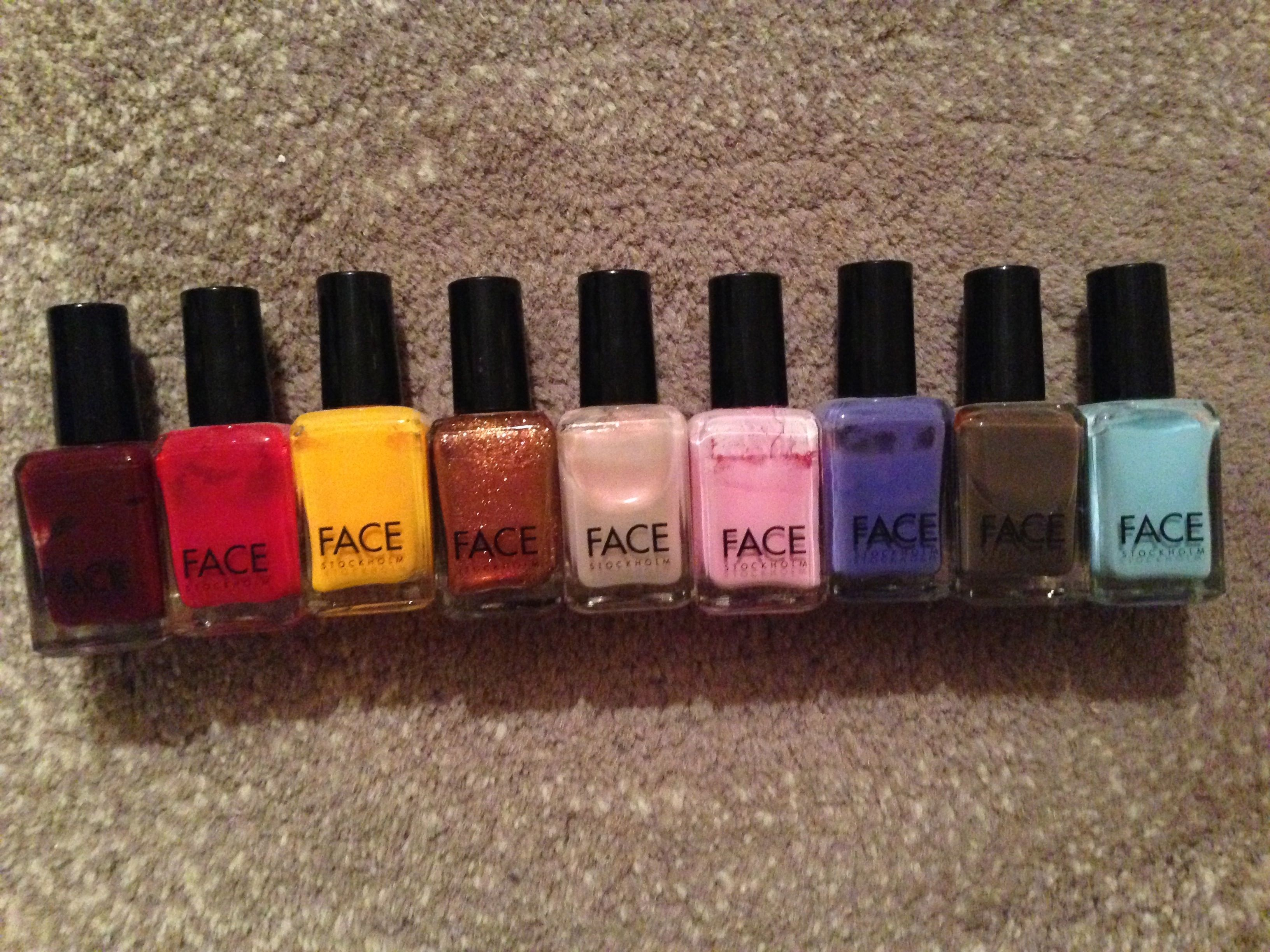 Check out my new blog post about my Face Stockholm nail polish ...