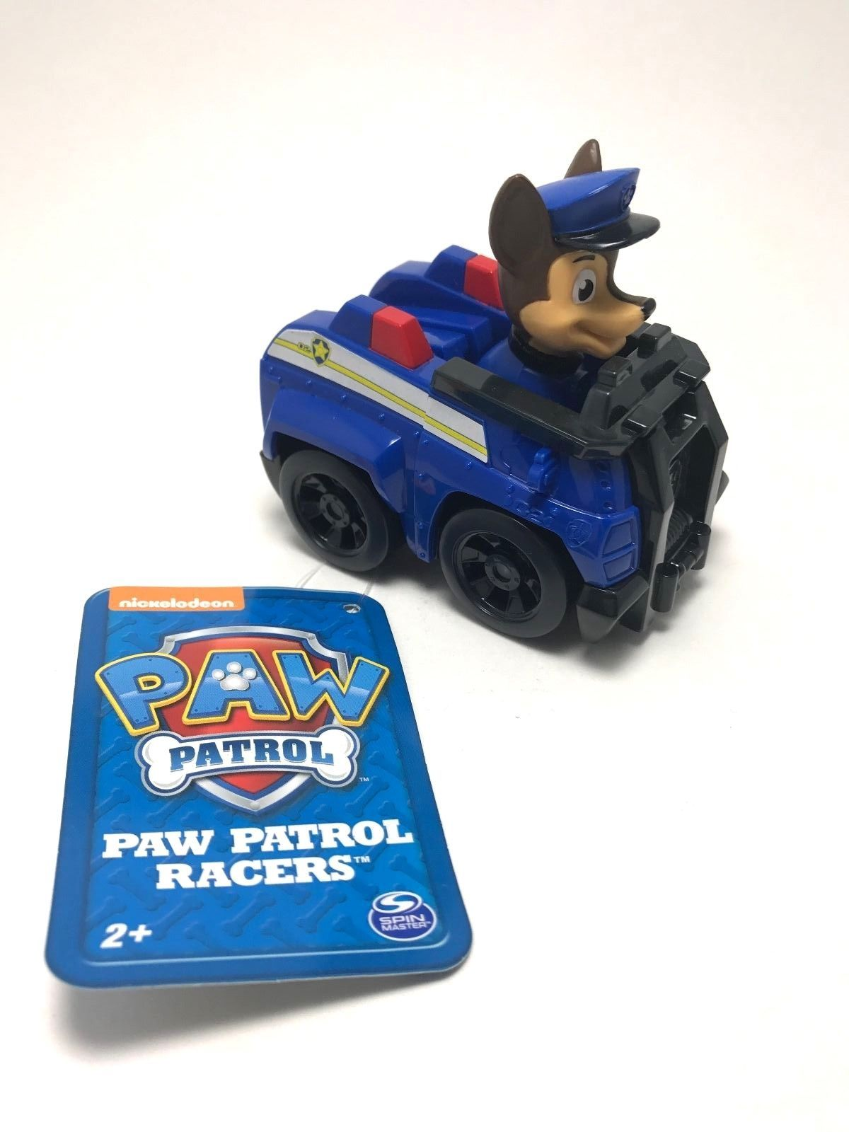 Nickelodeon Paw Patrol Chase Police Cruiser Racer Car Nick Jr