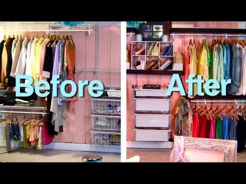 Container Store Closet System Makeover Wire Closet Container Store Inspired Budgetawesome