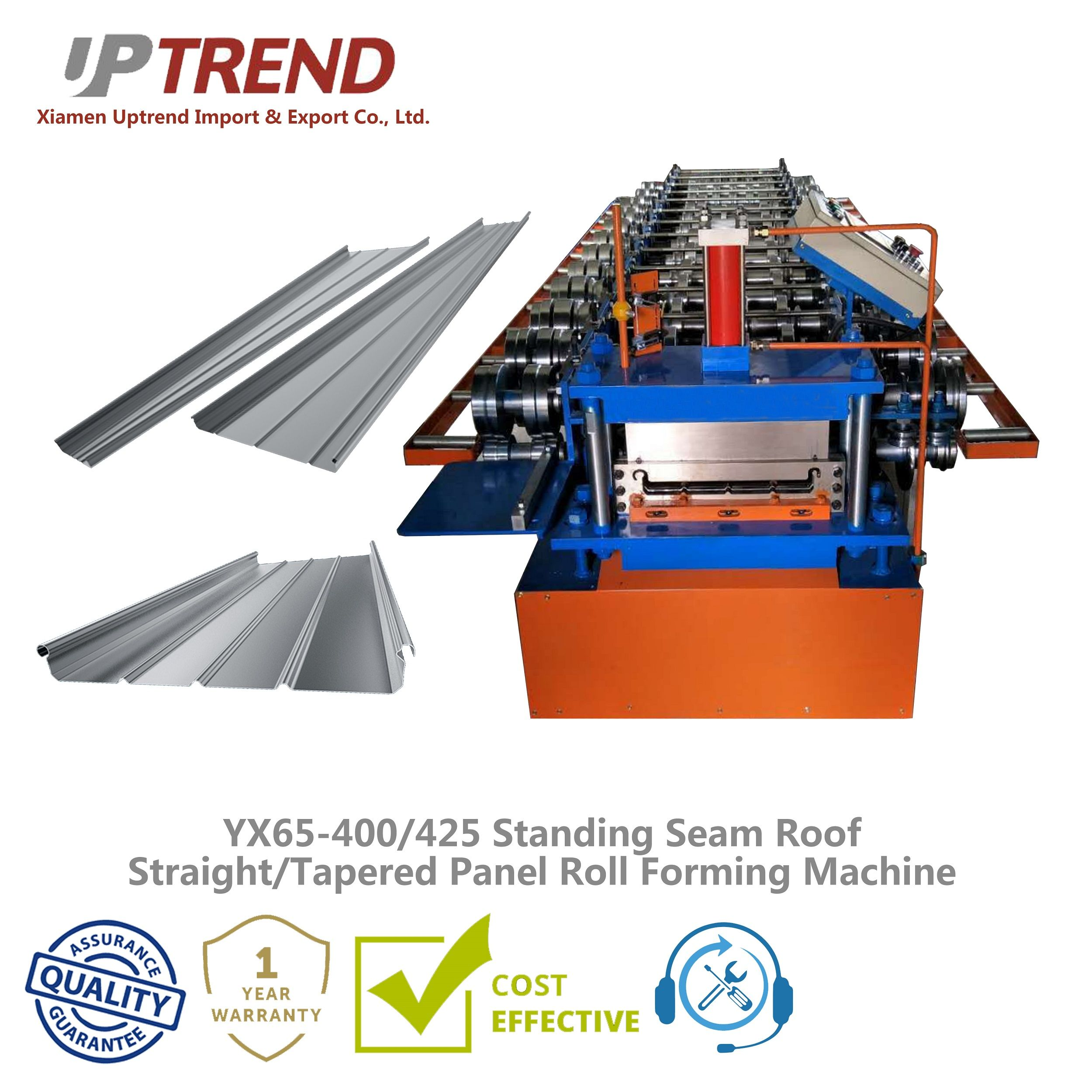 Standing Seam Roof Straight Tapered Panel Roll Forming Machine In 2020 Standing Seam Standing Seam Roof Plastic Injection Molding