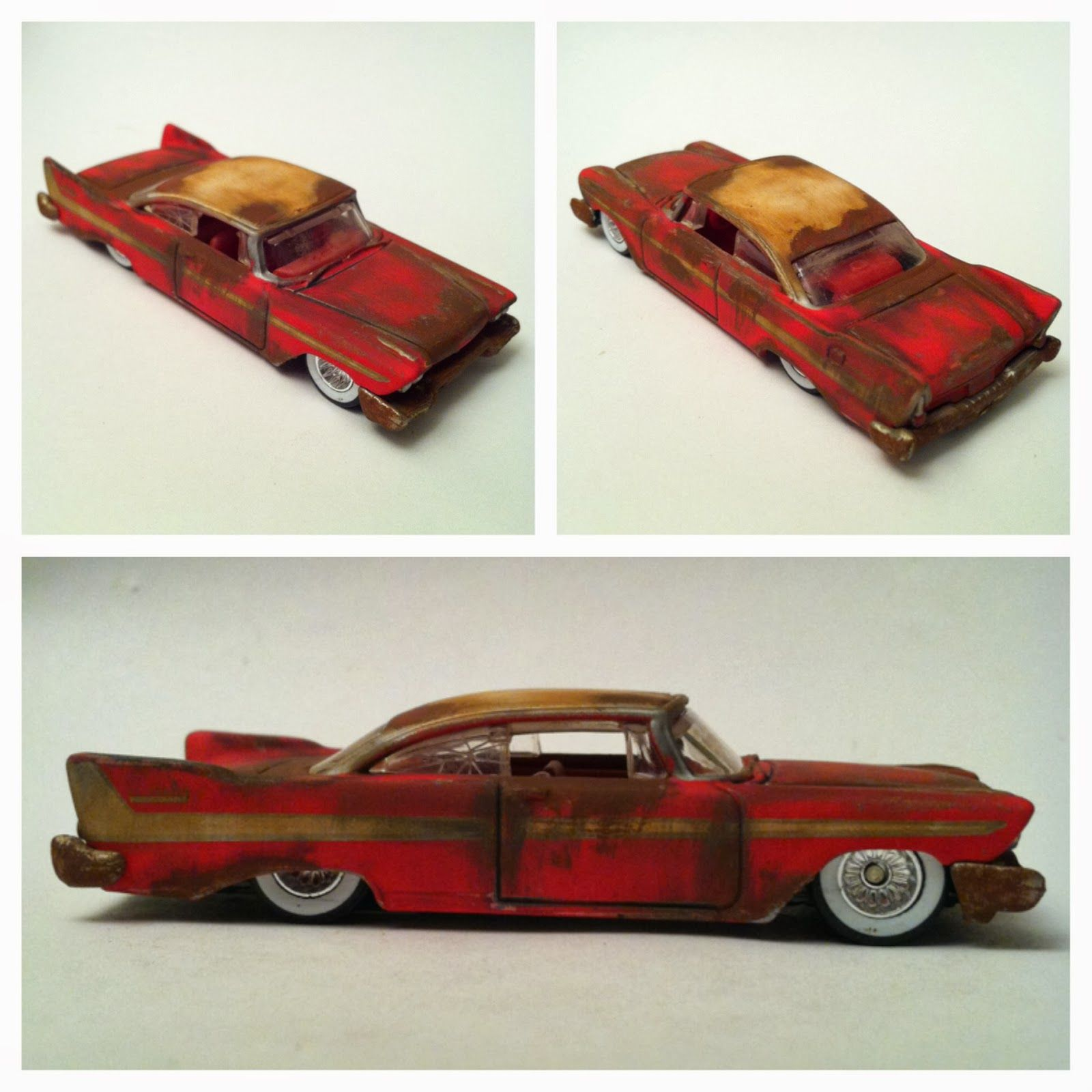 Custom Cars Hot Wheels 58 Plymouth Belvedere Rusted Barn Find