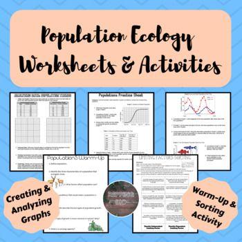 Population Ecology Worksheets | Worksheets, Density ...