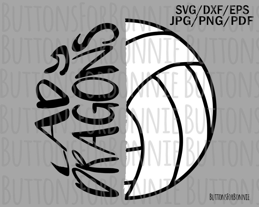Lady Dragons Volleyball Svg Volleyball Svg Volleyball Mom Etsy In 2020 Sports Svg Volleyball Mom Volleyball