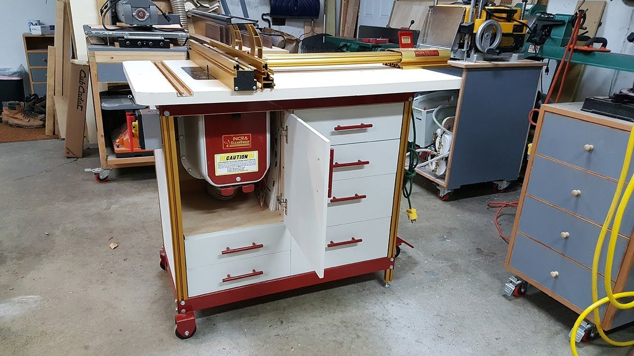 Incra router table cabinet build part 1 my woodshop pinterest incra router table cabinet build part 1 greentooth Images