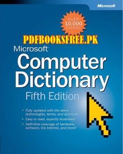 Microsoft Computer Dictionary Fifth Edition Computer Books