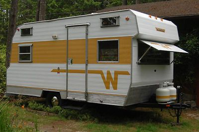 1966 Winnebago Model 217 R 14 Ft Travel Trailer Very Rare Vintage Classic Vintage Travel Trailers Vintage Camper Winnebago