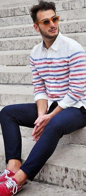 nice shirt, love the strips