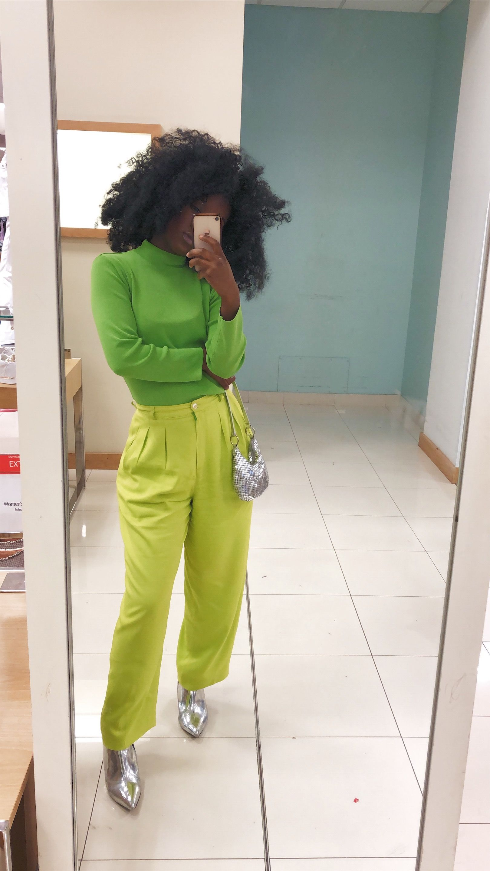 Neon Green Outfit Neon Green Outfits Monochromatic Fashion Green Outfit