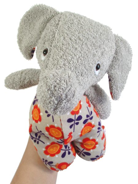 plushie.fant ★ HANDMADE ELEPHANT ★ made of terry cloth and corduroy