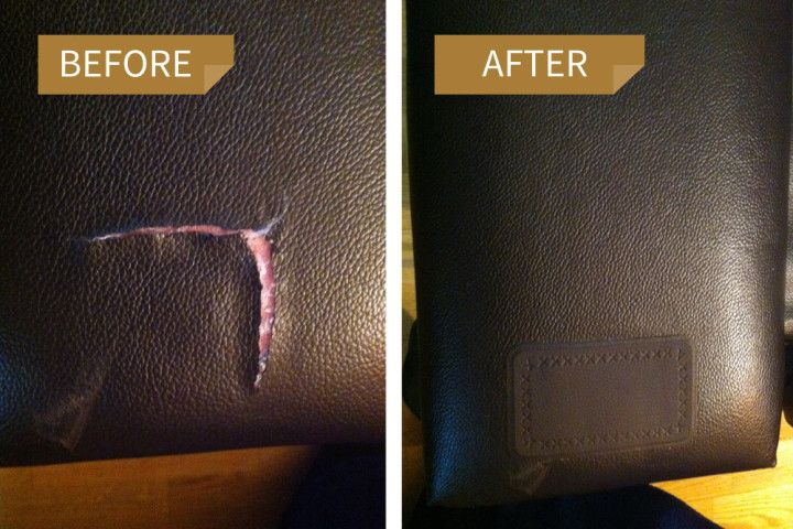Leather Repair Kit Gallery Leather Repair Patch Leather Couch
