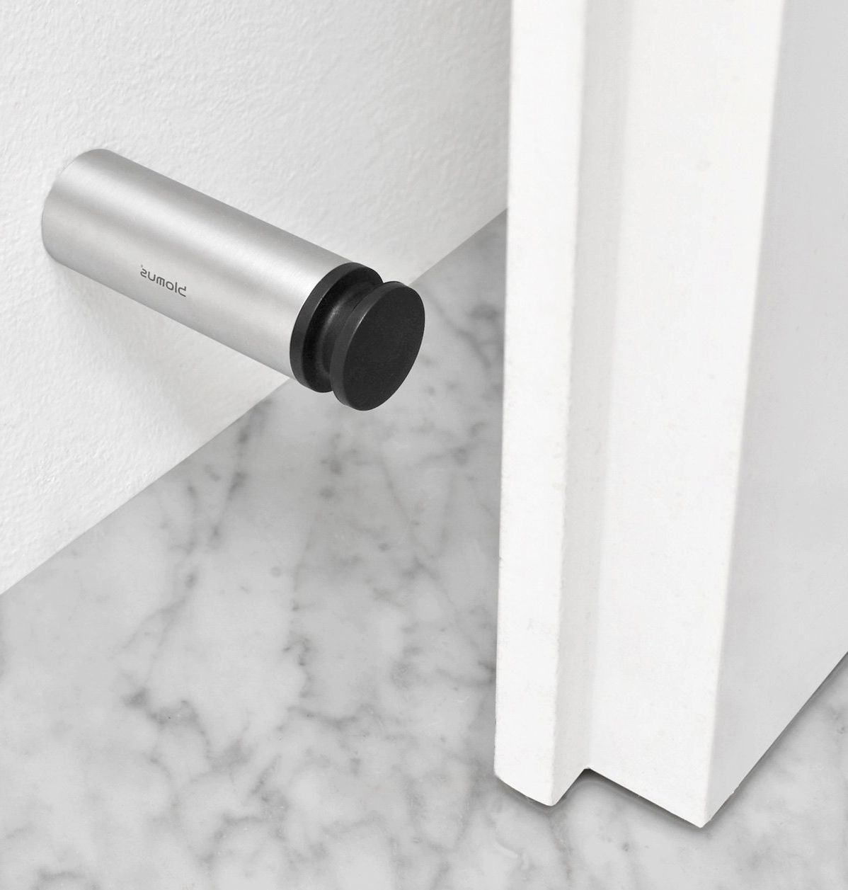 Lovely Metal Wall Holder   Door Stoppers Or Holders: Functions, Types, Installation