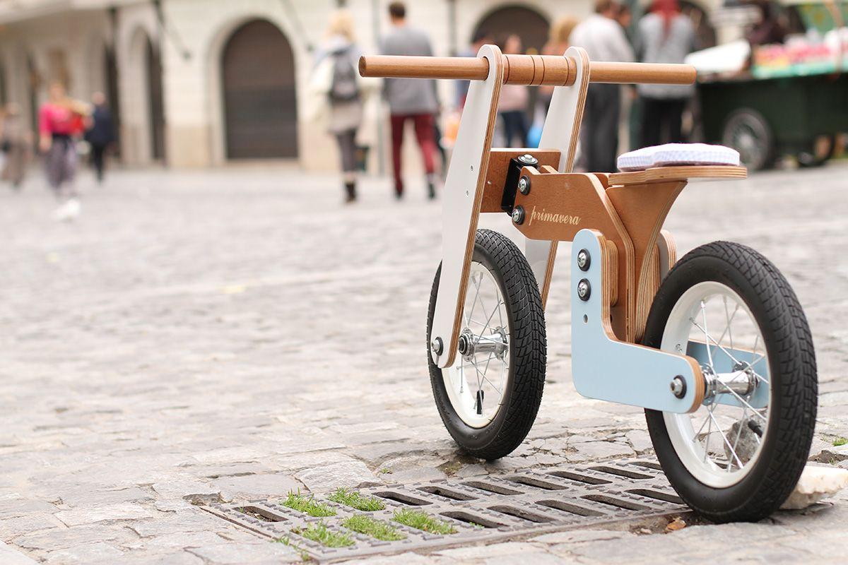 Primavera Balance Bike Has Its Own Character Balance Bike Wood