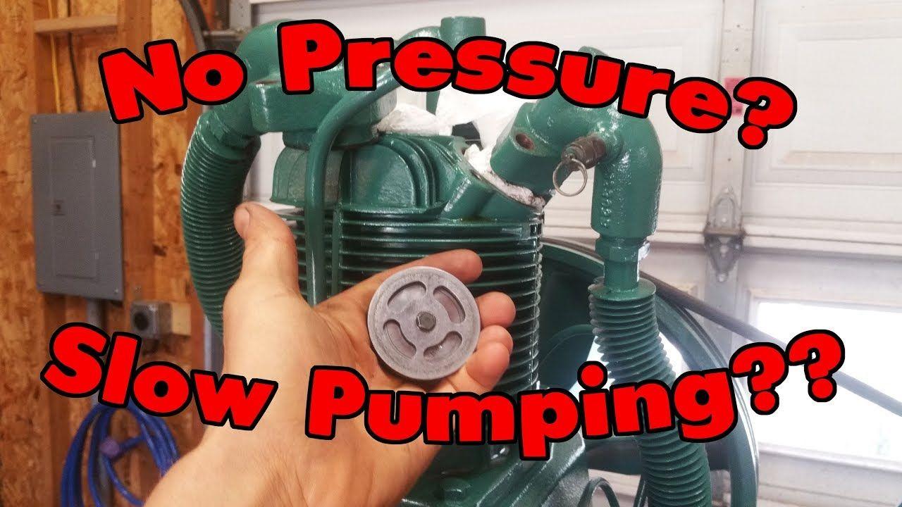 How To Repair Air Compressor Valves!! Air compressor