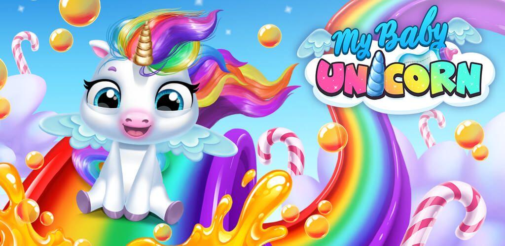 My Baby Unicorn Cute Rainbow Pet Care Dress Up Baby Unicorn Pet Care Online Pet Supplies