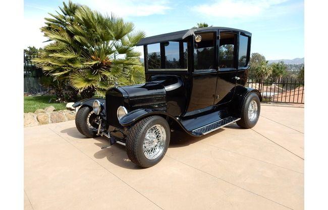 1918 Ford Model T Original All Steel Sedan For Sale In San Diego