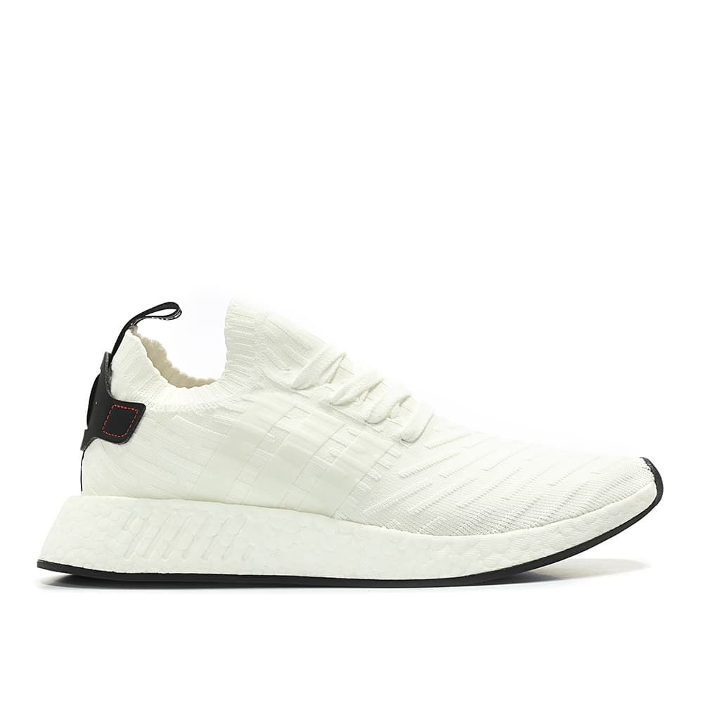 ddd24b974 adidas Originals NMD R2 PK Primeknit Runner Boost (white   black ...