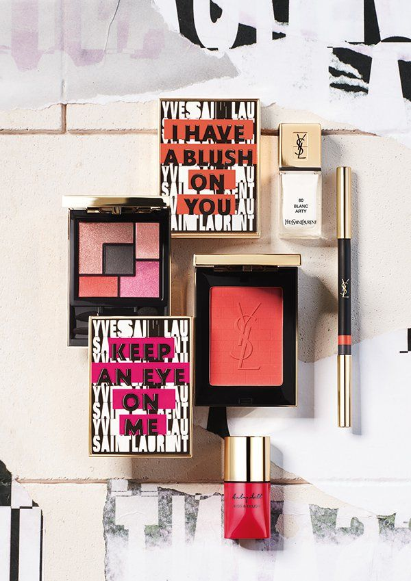 72c296014bd Yves Saint Laurent · YSL Spring Look 2017 «The Street and I» Ysl Cosmetics,  Makeup Package,