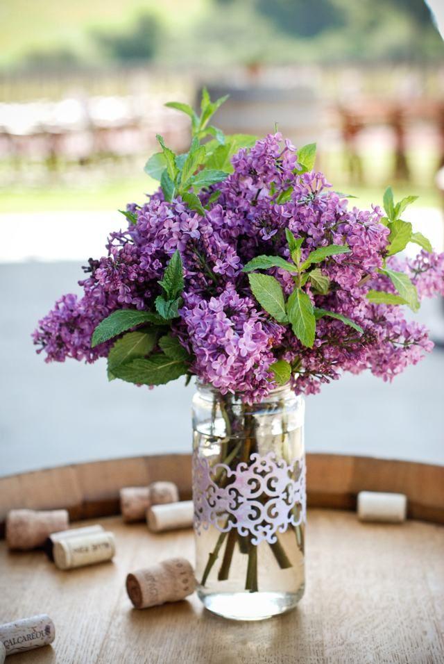 Pin By Kristen Philpott On Wedding Flowers Purple Wedding Flowers Wedding Centerpieces Wedding Flowers