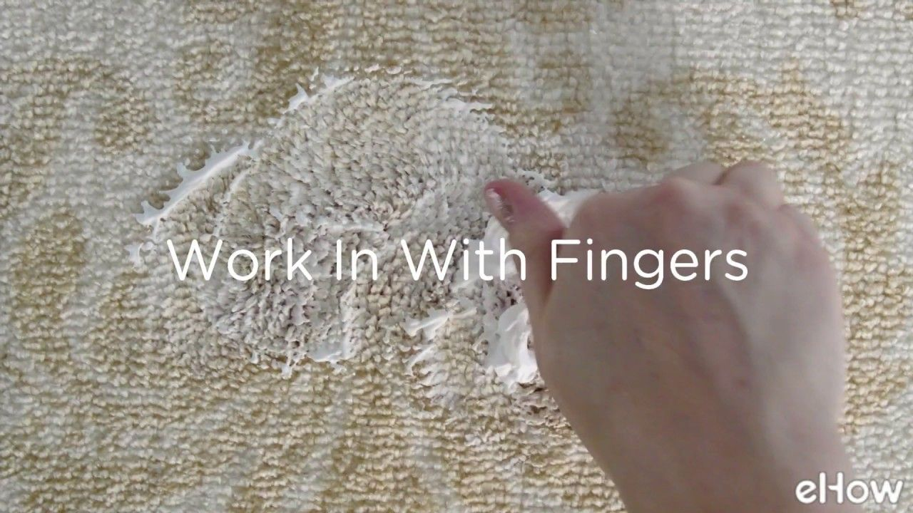 How to clean a carpet stain cleaning fabric how to