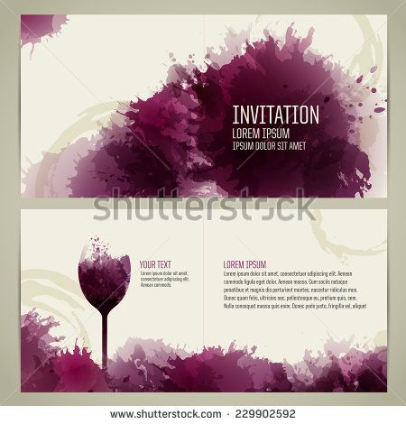 Invitation template for event or party suitable for tasting invitation template for event or party suitable for tasting events or wine presentation artistic stopboris Gallery