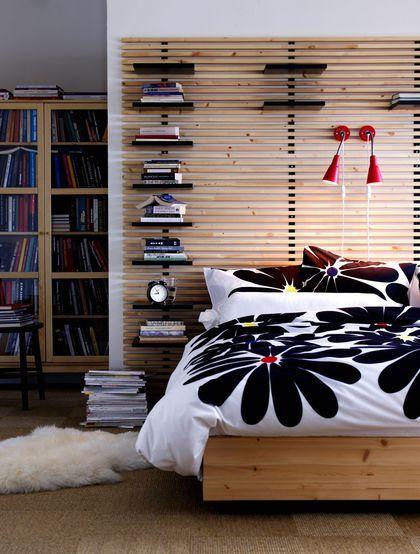 t te de lit 20 mod les d co tete de lit ikea lit ikea. Black Bedroom Furniture Sets. Home Design Ideas