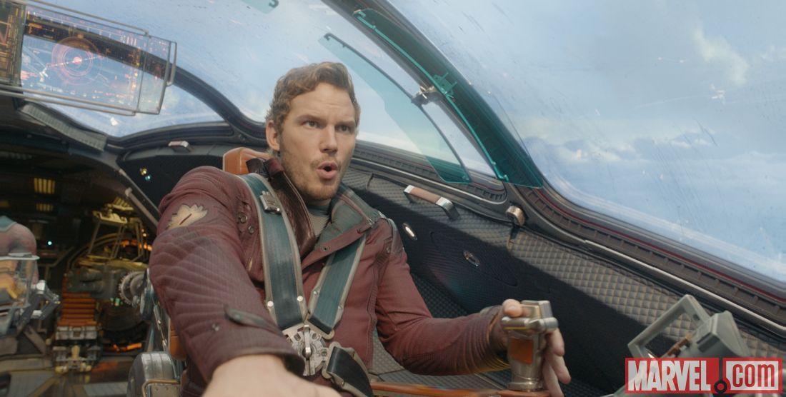 Chris Pratt stars as Star-Lord in Marvel's Guardians of the Galaxy