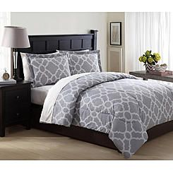 Essential Home 3 Piece Microfiber Comforter Set 8211 Geo