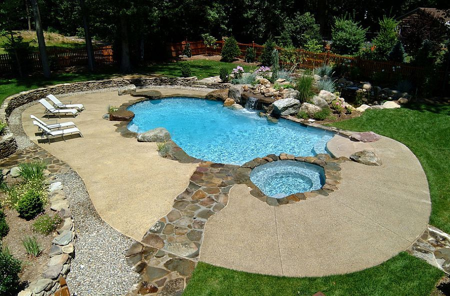 Outdoor Design Trend: 23 Fabulous Concrete Pool Deck Ideas ...