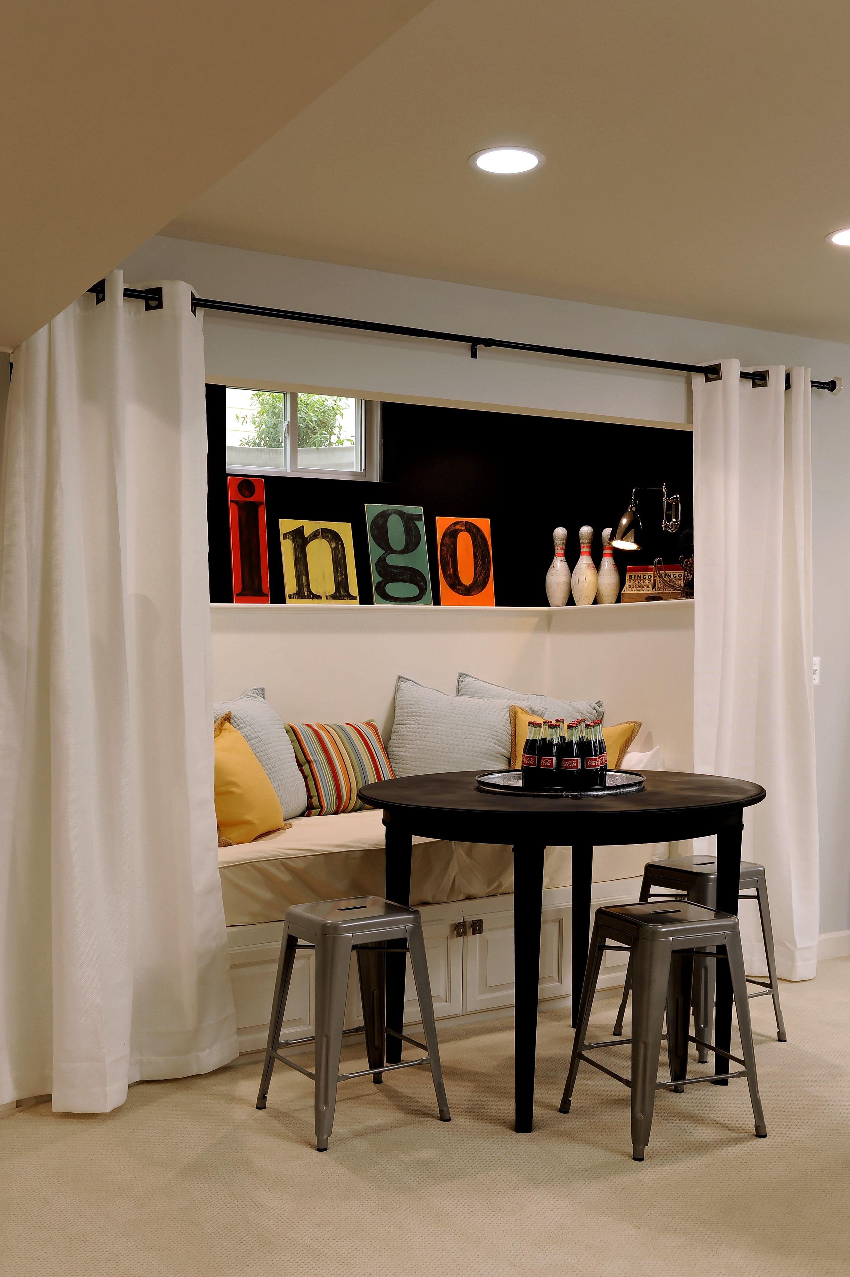 Basement Sleeping Nook  Home Decor  Pinterest  Sleeping Nook New Private Dining Rooms Richmond Va Inspiration