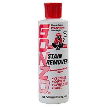 Gonzo Stain Remover 8 Fl Oz Laundry Stain Remover Stain Remover Stain Remover Carpet