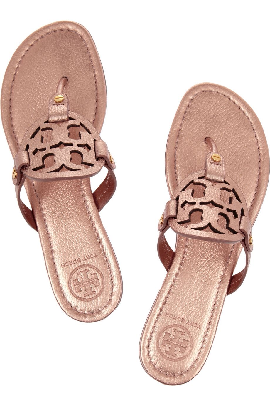 e3fad9ad179d72 Tory Burch Miller in Rose Gold