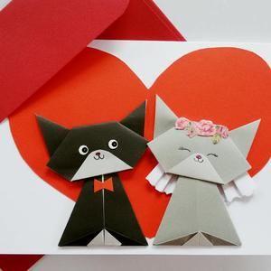 Photo of Origami Cat Magnets, Cat Item, Fridge Magnet, Black Cat Magnet, Catlovers, Kitten