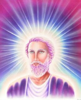 Saint Germain Mystical Art Gaia Angel Art