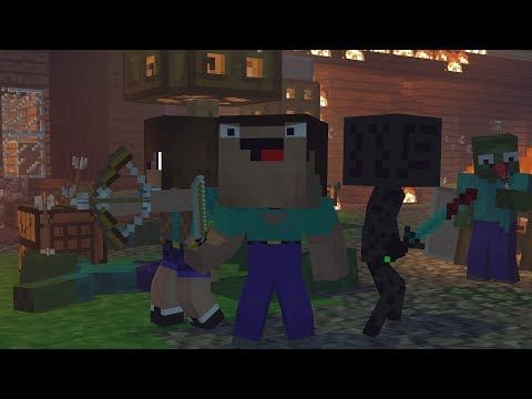 Noob and Brothers: FULL ANIMATION - Minecraft Animation - YouTube
