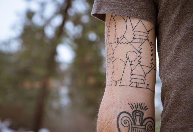 Mystical Forrest — Eric Smith  // TATTOO