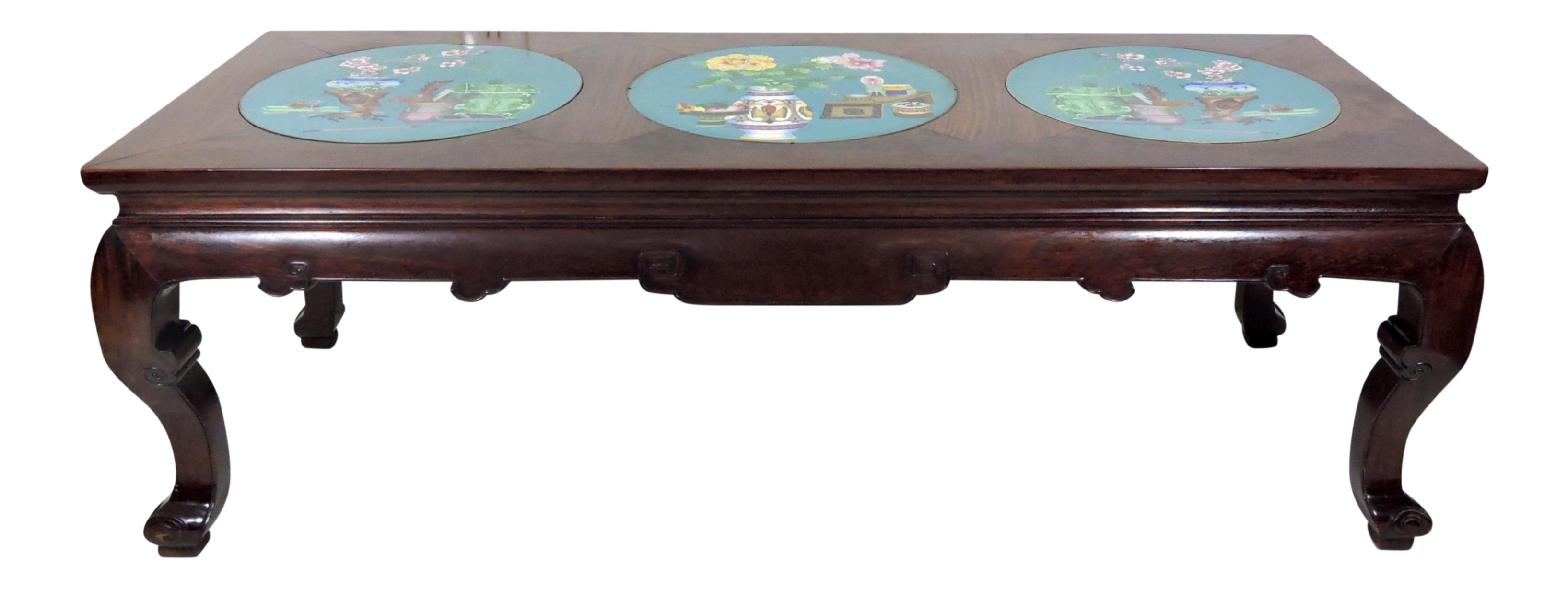 Mid 20th Century Asian Black Lacquer And Inlaid Mother Of Pearl Folding Round Coffee Table Coffee Table Folding Coffee Table Round Coffee Table [ 2146 x 3204 Pixel ]