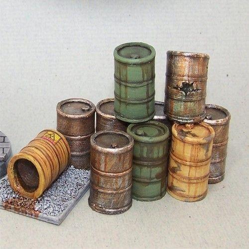 FGSF01 - Oil barrels