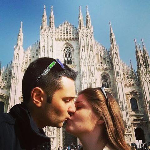 Kiss #Milano #piazzaduomo #duomodimilano #vivomilano #igersmilano #beautifulday #milanodavedere #milanodaclick #milanocity #instamilano #picoftheday #love #piskp  by soniaeditor