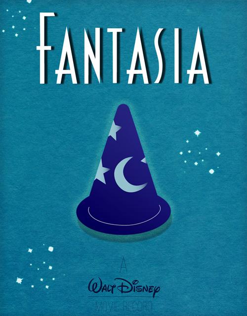 Fantasia 1940 Disney Movie Posters Fantasia Disney Disney Minimalist