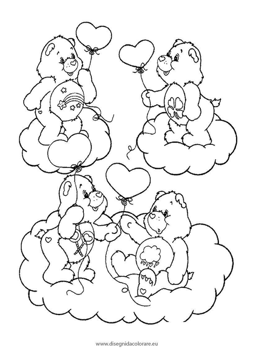 Disegni da colorare orsetti   Disegni da colorare   IMAGIXS ...
