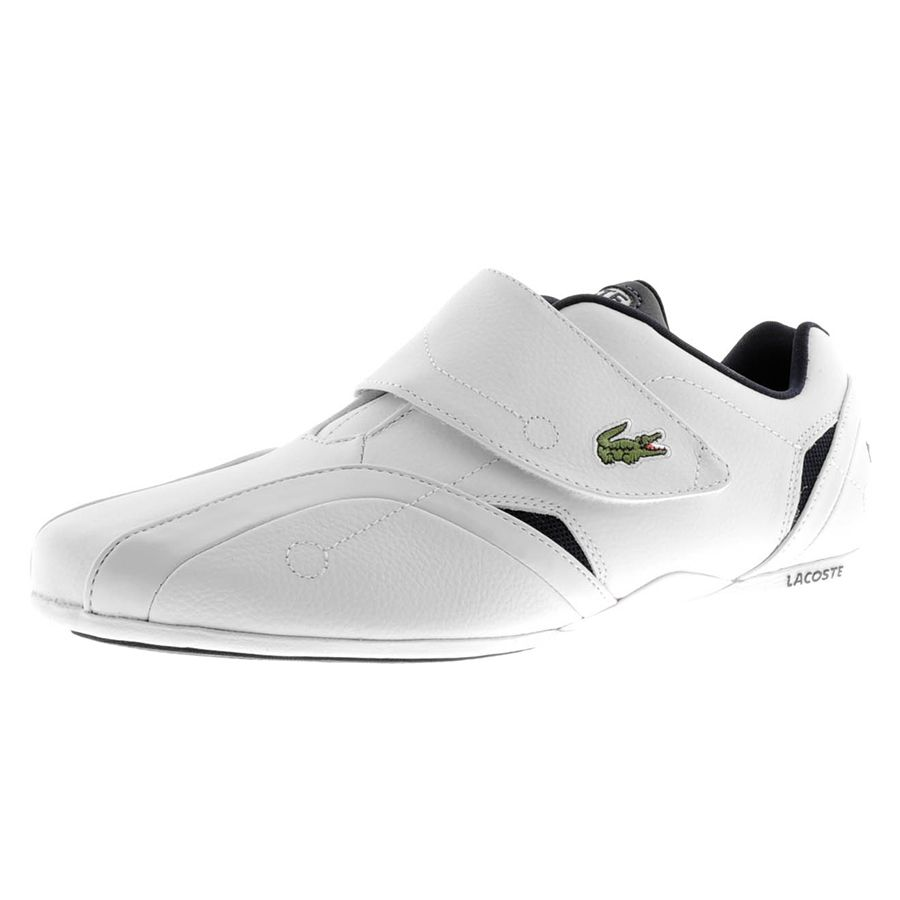 ac15e28d2c7 LACOSTE PROTECT LCR TRAINERS FOR MEN IN WHITE NAVY - Footwear - MelMorgan  Sports