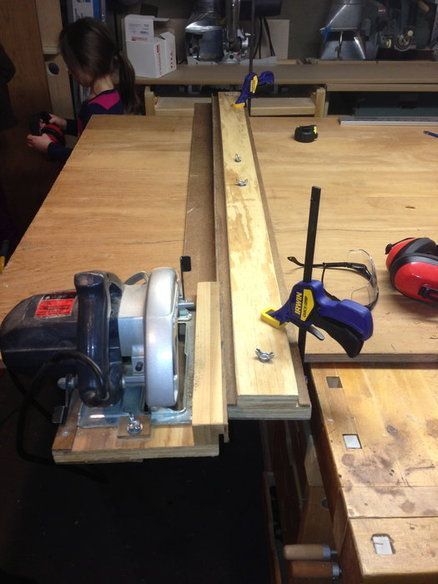 Homemade Track Saw Woodworking Basics Woodworking Techniques Woodworking