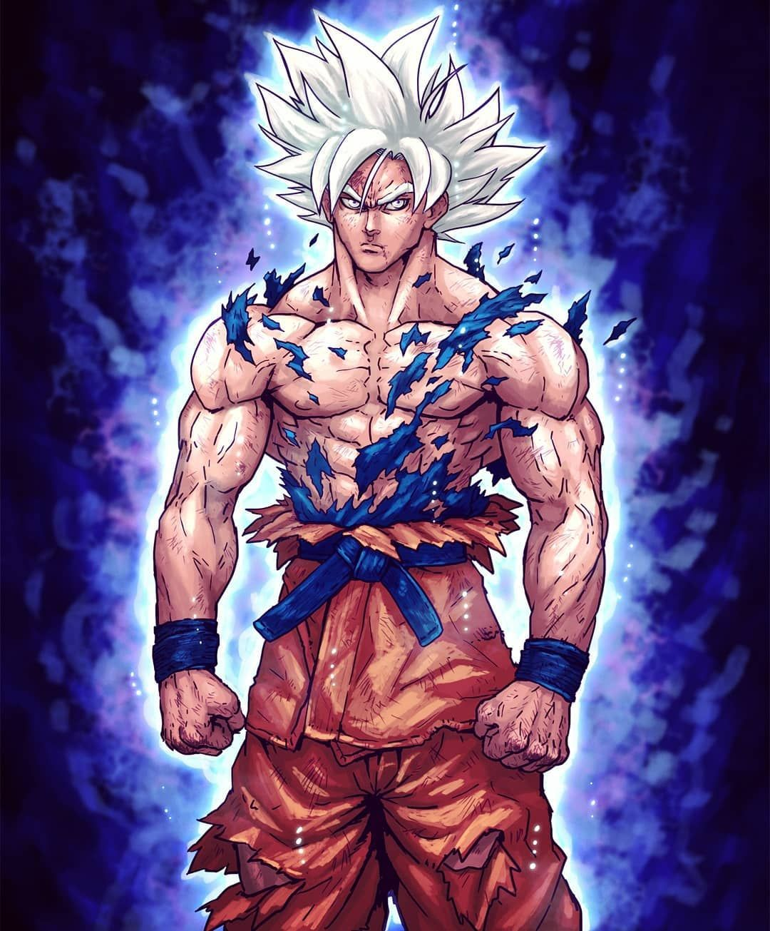 Mastered Ultra Instinct Son Goku Hey Guys I Finally Got Myself To Finish This Hope Dragon Ball Super Goku Dragon Ball Super Manga Anime Dragon Ball Super