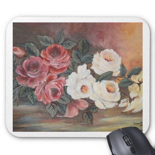Harmonia de Rosas - leo - 40x60 Mousepad