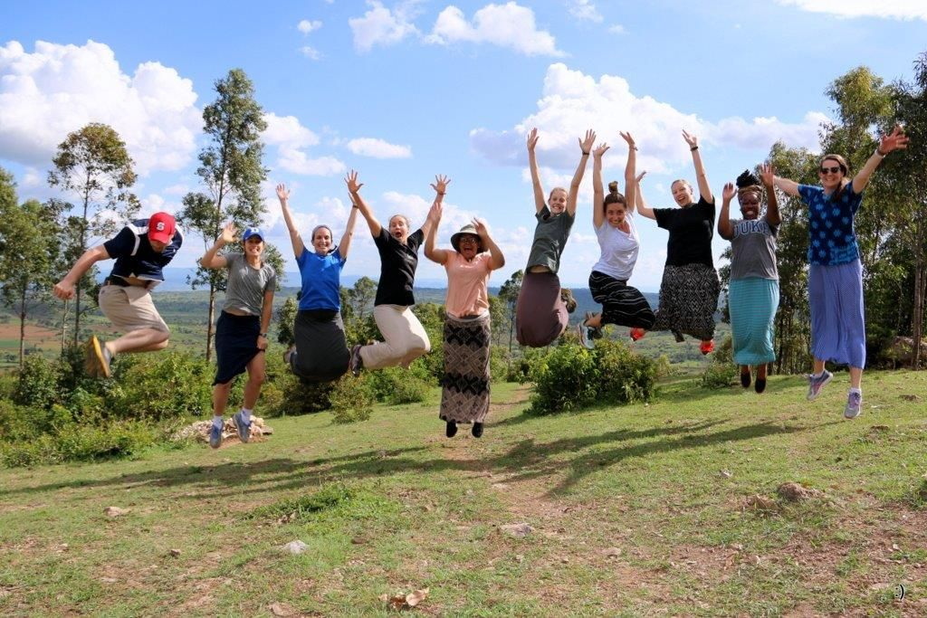 Here's a fun #TBT of our ABSN students: Patrick, Courtney A., Elena, Shelley, Courtney R., Alexandra, Taylor, Jennifer, Jasmine and Professor Anne Derouin in Tanzania for a 2 week project with The City of Hope. #globalhealth #nursingstudents