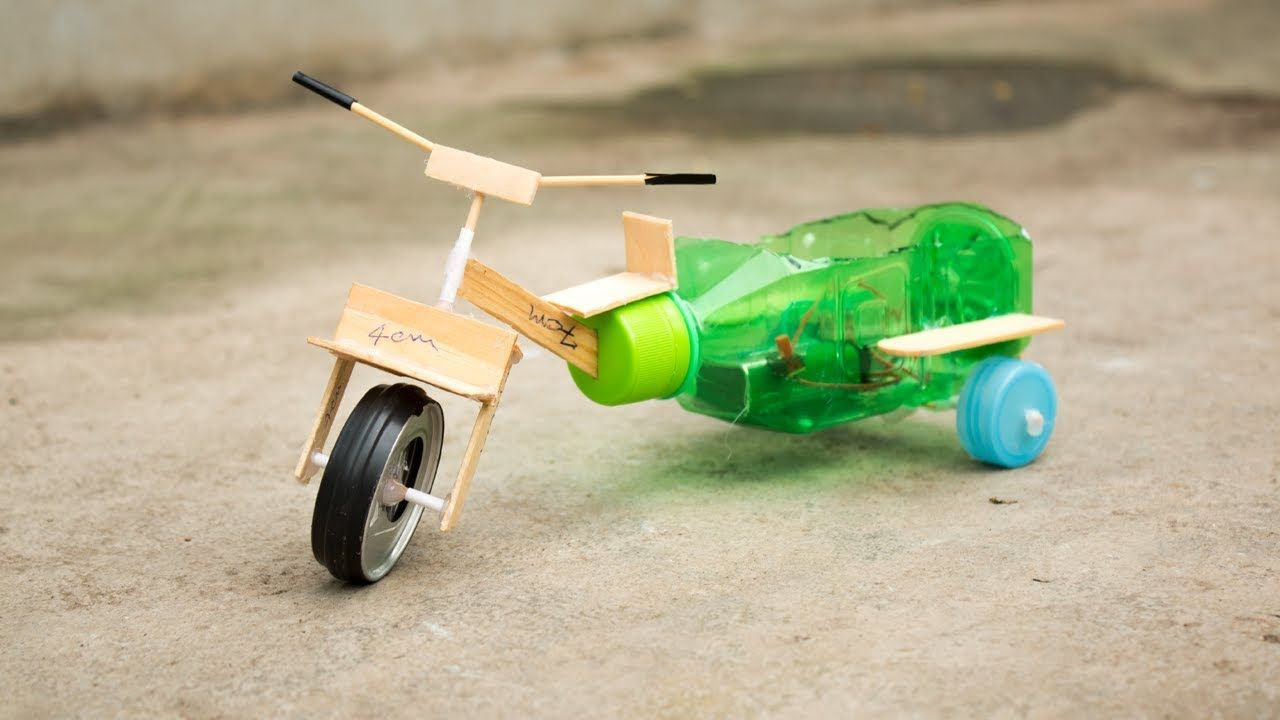 How To Make Electric 3 Wheel Bike With Motor For Kids You