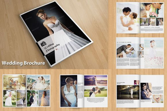 Indesign Wedding Brochure V114 Wedding Photography Magazine