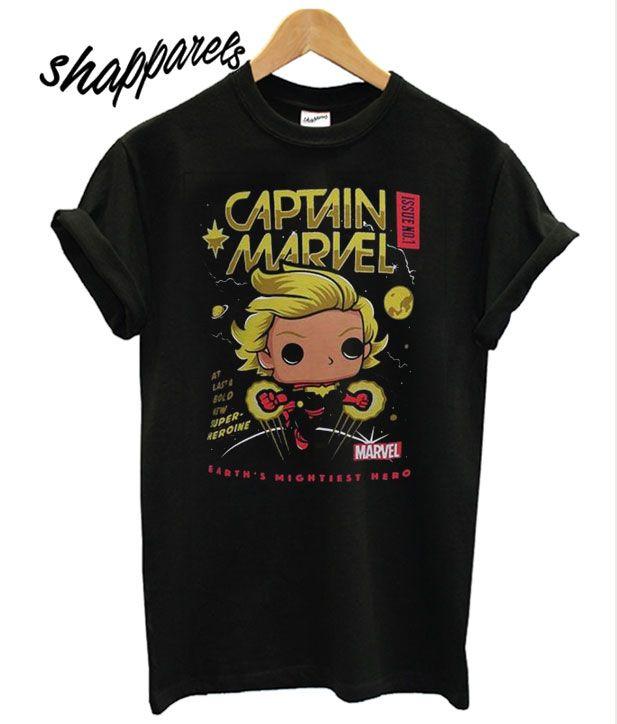 Funko Captain Marvel T shirt